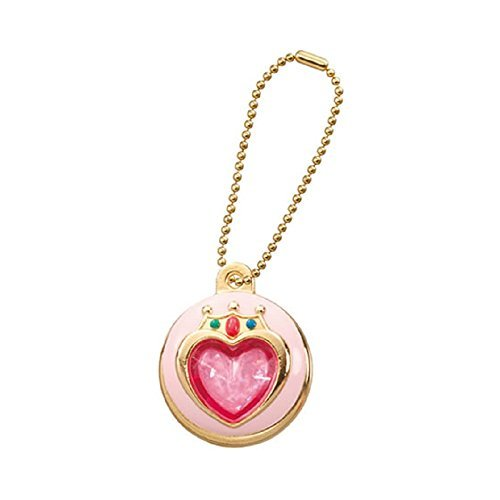 Sailor Moon Die-cast Charm Part 2~Figure Swing Keychain~Prism Heart Compact~26mm D - 1