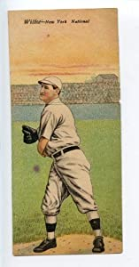 Buy 1911 T201 Mecca Double Folder Tobacco Wiltse Merkle New York Giants by Hollywood Collectibles