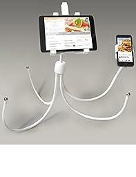 LXORY FourFlexx iPad Floor Stand (White) for 8-12\