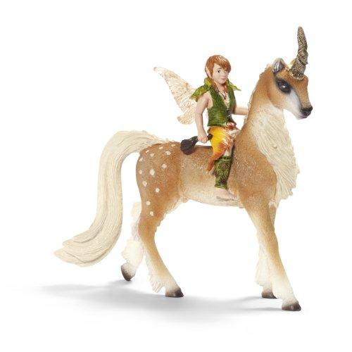 Schleich-70461-Figurine-Elfe-sur-une-Licorne-Homme-Mai-New
