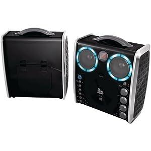 Singing Machine SML-383 Portable CDG Player Karaoke...