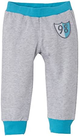 Dirkje 33EQ-13535BH - Pantalon - Bébé garçon - Gris (Grey Mêlée) - FR: 18 mois (Taille fabricant: 86)