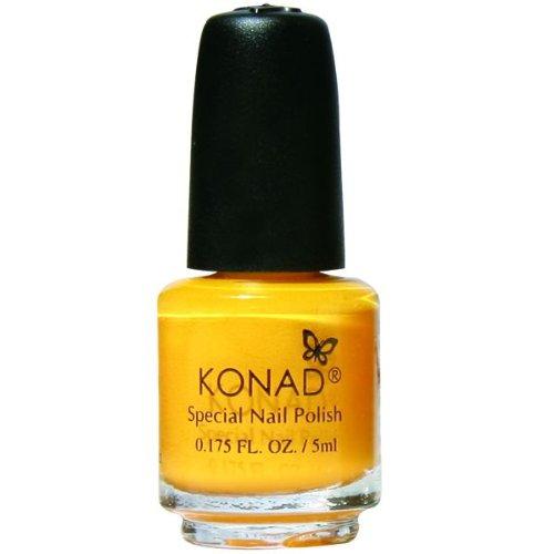 Konal Nail Art Stamping Special Polish, Yellow, 5ml