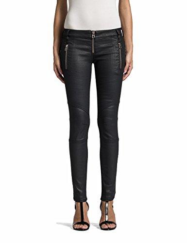Replay Damen Slim Jeans Bikerpants WX8595.000.523 08N, Gr. W26, Schwarz (Black Denim 7) thumbnail