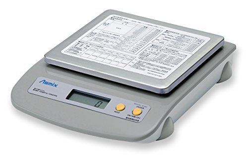 アスカ(Asmix) デジタルスケール 新郵便料金対応 最大計量5kg DS5008
