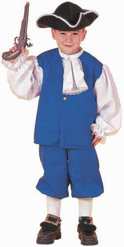 Boy's Colonial Halloween Costume (Size: Small 4-6)