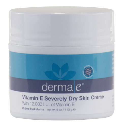 derma e - Vitamin E Creme, 12,000 IU, 4 oz cream