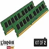 Kingston PC3L-12800(DDR3L-1600) 240-pin DIMM8GB(4GB×2枚)(低電圧モデル 1.35V) KVR16LN11K2/8