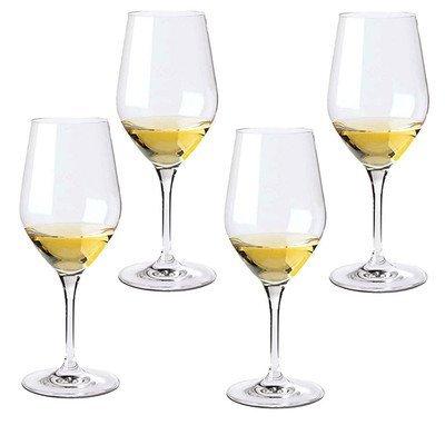 Wine Enthusiast Fusion Classic Chardonnay Wine Glasses, Set of 4