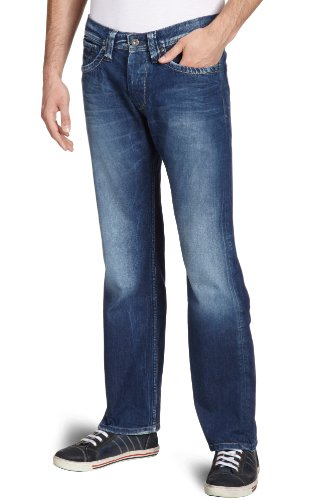 Pepe Jeans London Kingston/B10 Straight Men's Jeans Denim W32 INxL32 IN