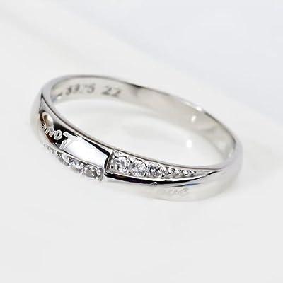 925 Sterling Silver Swarovski Elements Crystal Diamond Accent Love Forever Eternity Engagement Wedding Rings for women men teenage girls, Size Sizer uk M J L K T N P Q R O I S V Z, with a Gift Box, Ideal Gift for Birthdays / Christmas / Wedding