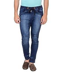 Jogur Indigo Color Fashion Jeans For Men