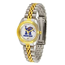 "Memphis Tigers NCAA ""Executive"" Ladies Watch (2-Tone Stainless Steel Band)"