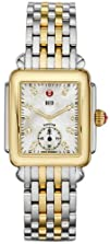 Michele Deco Mother of Pearl Dial Two-tone Ladies Watch