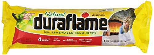 Duraflame Natural Firelog, 4 Hours, 6 lbs (Duraflame 4 Hour compare prices)