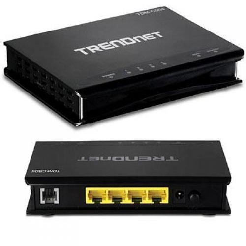 TRENDnet TDM C504 ADSL 2 2 Modem Router