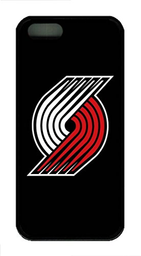 Portland Trail Blazers 2 Custom Phone 3D Case Design for iphone 5C Case with Black Technology