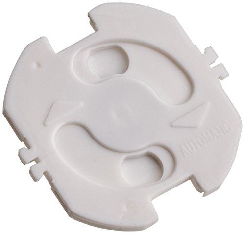 Hartig + Helling 97722 KS 10 Seguro autoadhesivo de enchufes, 10 piezas