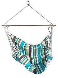 Hangit Canvas Swings for home Indoor Balcony with wood spreaderbar | Ideal garden swings
