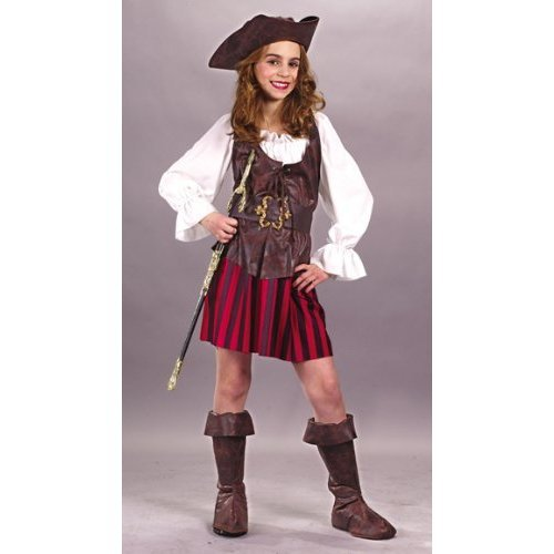 Costumes For All Occasions FW5889MD Medium High Seas Buccaneer Girl
