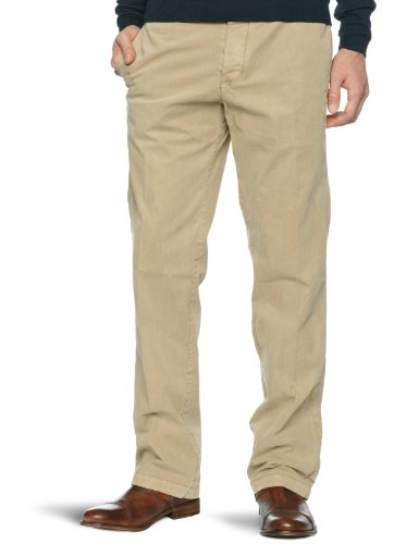 Original Penguin Straight Leg Chino Slim Men's Trousers Cornstalk W34IN x L32IN