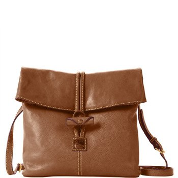 Dooney & Bourke Florentine Medium Toggle Crossbody, Taupe