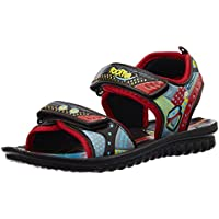Foot Fun (from Liberty) Unisex Phntom-1 Brown Sandals and Floaters - 13 kids UK/32 EU