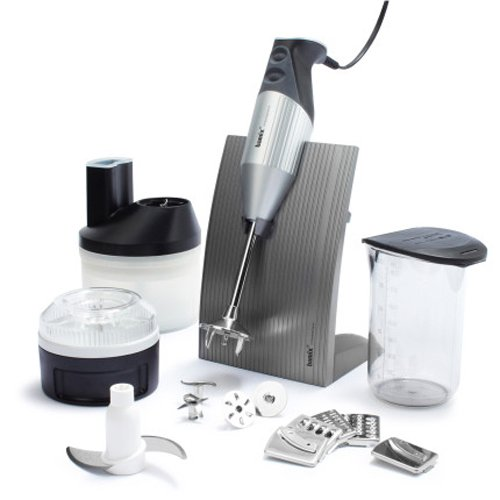 Victorinox Swiss Army Bamix Superbox Immersion Blender And Food Processor 105.049 , Silver front-896796