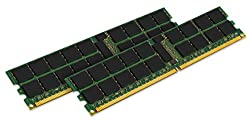 Kingston 16GB (2 x 8 GB) 667MHz ECC Registered DDR2 PC2-5300 240pin DIMM for Servers P/N: KTH-XW9400K2/16G
