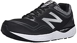 New Balance Men's M520V2 Running Shoe, Black/Grey, 13 D US