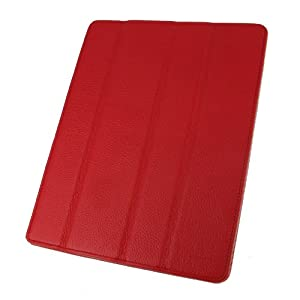 rooCASE Smart Case for iPad 2 - Red
