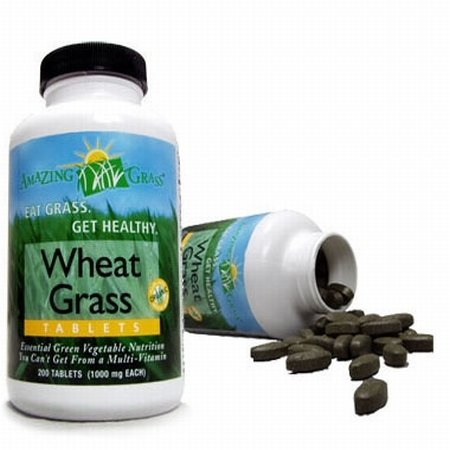 Organic Wheat Grass 200 Tablet