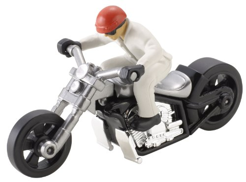 Hot Wheels Custom Motors Motorcycle - 1