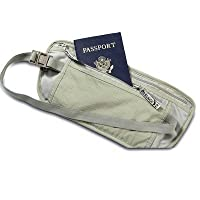Travel Money Belt ID Passport Body Security Waist Pouch
