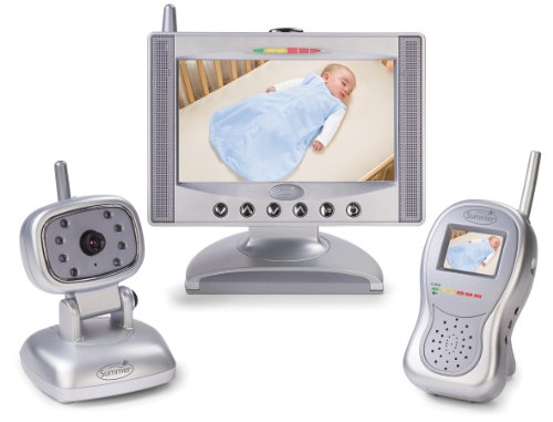 Summer Infant Complete Coverage Color Video Monitor Set with 7