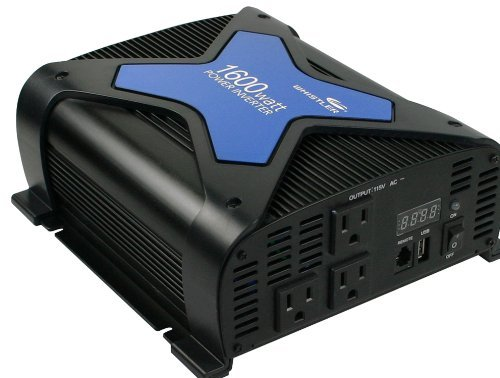 Whistler Pro-1600W 1,600 Watt Power Inverter