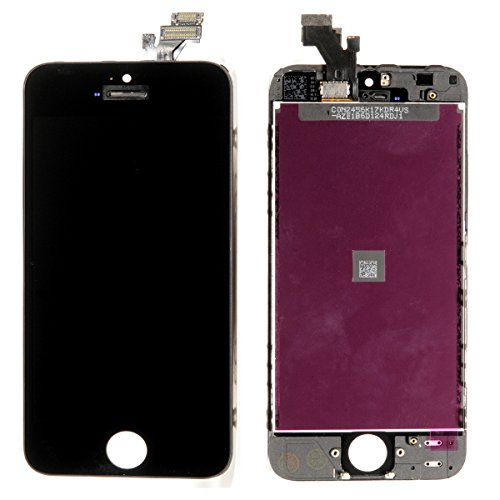 Front Housing Lcd Touch Digitizer Glass Screen Assembly Oem For Iphone 5 Black