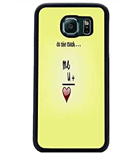 PrintDhaba Quote D-5527 Back Case Cover for SAMSUNG GALAXY S6 (Multi-Coloured)