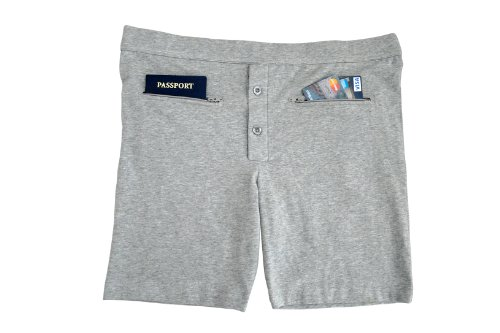 Pick-pocket proof men's underwear with pockets
