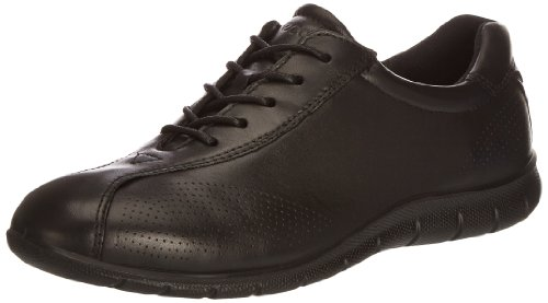 ECCO Women's Babett Tie Walking Shoe,Black,41 EU/10-10.5 M US