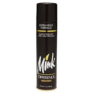 Mink Difference Hair Spray, Aerosol Extra Hold - 7 Oz,3 Packs