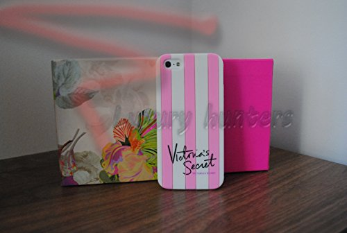Victoria's Secret & Iphone 5, motivo a righe, per Apple Iphone 6-cover rigida in silicone per Apple Iphone, colore: rosa, Gomma, rosa, iPhone 6