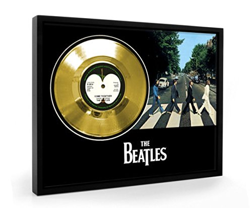 Beatles Come Together Framed Disco d'oro Display Vinyl (C1)