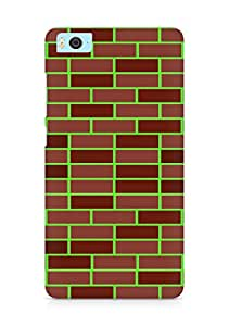 Amez designer printed 3d premium high quality back case cover for Xiaomi Mi5 (Brick Wall)