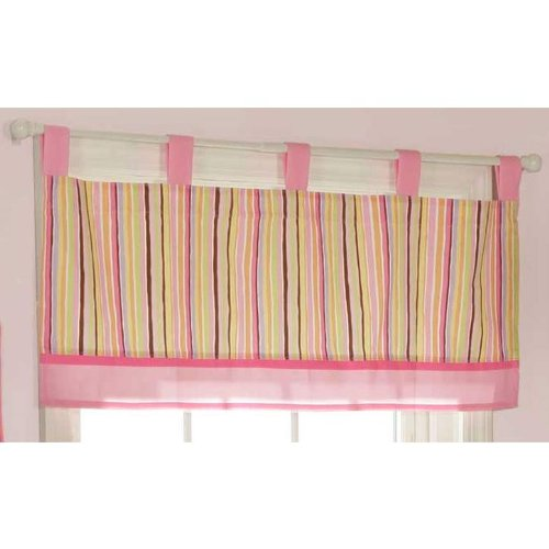 Bubblegum Jungle Window Valance by Bananafish - 1