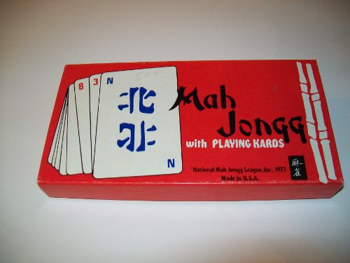 Vintage 1977 - Mah Jongg with Playing Kards - 1