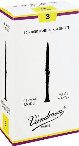 Vandoren - anches de clarinette sib white master 3 - cr163