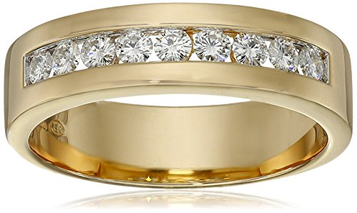mens-18k-yellow-gold-over-sterling-silver-channel-set-moissanite-half-band-ring-size-10