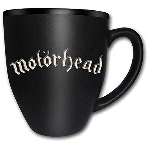 Motörhead-Tazza in ceramica-Logo-Con incisione-Confezione regalo