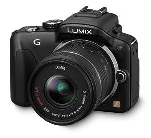 Panasonic Lumix DMC-G3KEG-K Systemkamera (16 Megapixel, 7,5 cm (3 Zoll) Touchscreen, elek. Sucher) Gehäuse schwarz inkl. Lumix G Vario 14-42mm Objektiv